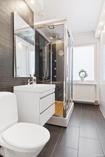 ванная комната совмещенная с душевой