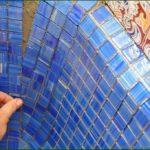 Как правильно укладывать мозаику