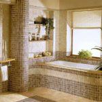Дизайн ванной комнаты на базе последних тенденций в сфере керамики 2021 года