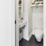 Плитка в туалете: дизайн, фото, советы по выбору, виды, цвета, формы, примеры раскладки