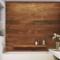 Плитка под дерево в ванной комнате: фото в интерьере, идеи отделки стен и пола