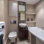 Дизайн маленькой ванной комнаты: красивые, модные и современные интерьеры