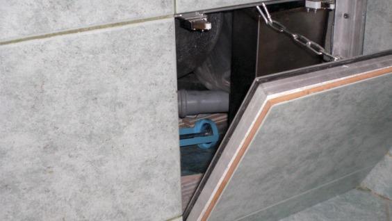 Лючки для ванной под плитку