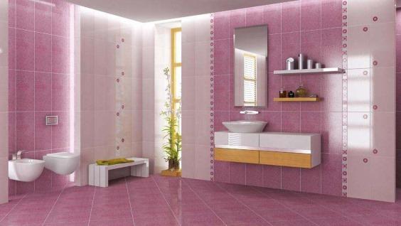 Какую плитку лучше выбрать в ванну на стены .