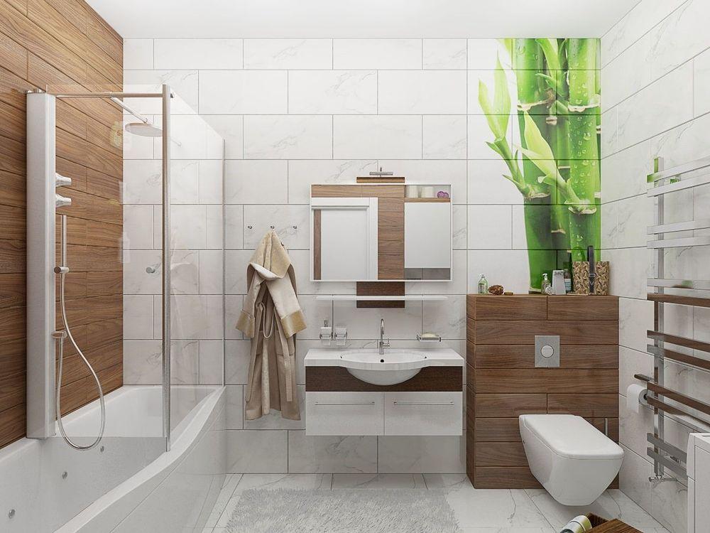 Варианты ремонта ванной комнаты: фото