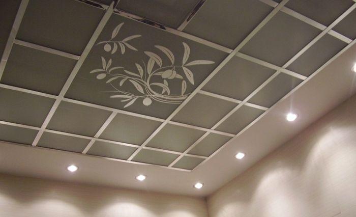виды плит подвесного потолка «Армстронг»