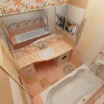 Дизайн ванной комнаты в хрущевке — интерьеры, идеи для ремонта