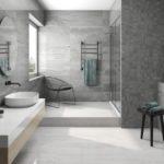 Дизайн ванной комнаты с мраморной плиткой — лучшие идеи