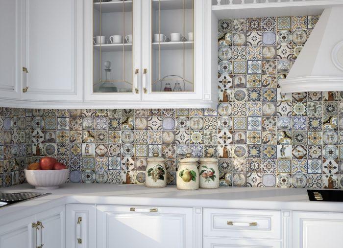 плитка для кухни фартук