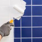 Как покрасить плитку в ванной своими руками: краска и окрашивание керамических пластин