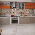 Плитка для кухонного фартука: фото примеры, цвет плитки, способы укладки