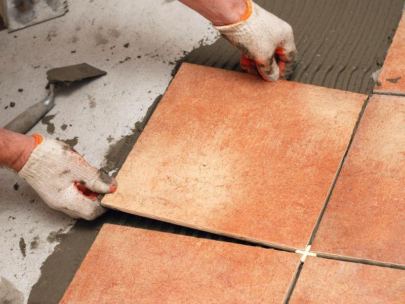 Приспособление для укладки плитки на пол
