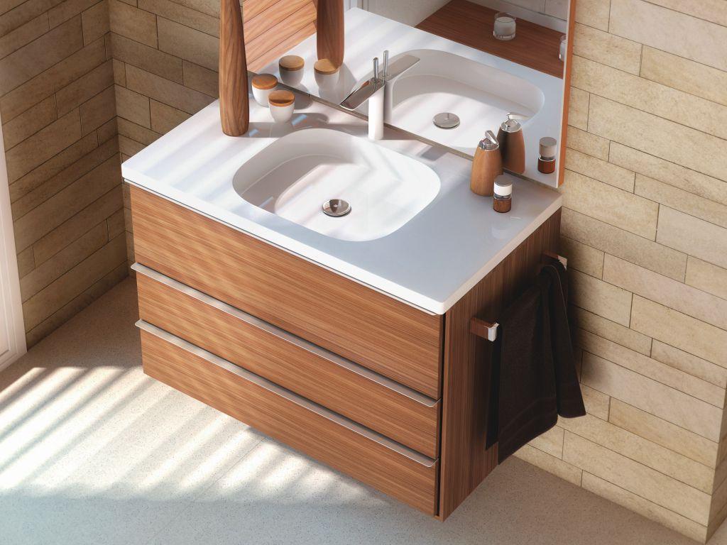 Высота тумбы с раковиной для ванной комнаты