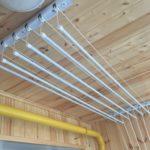 Сушилка потолочная лиана: инструкция по установке, видео