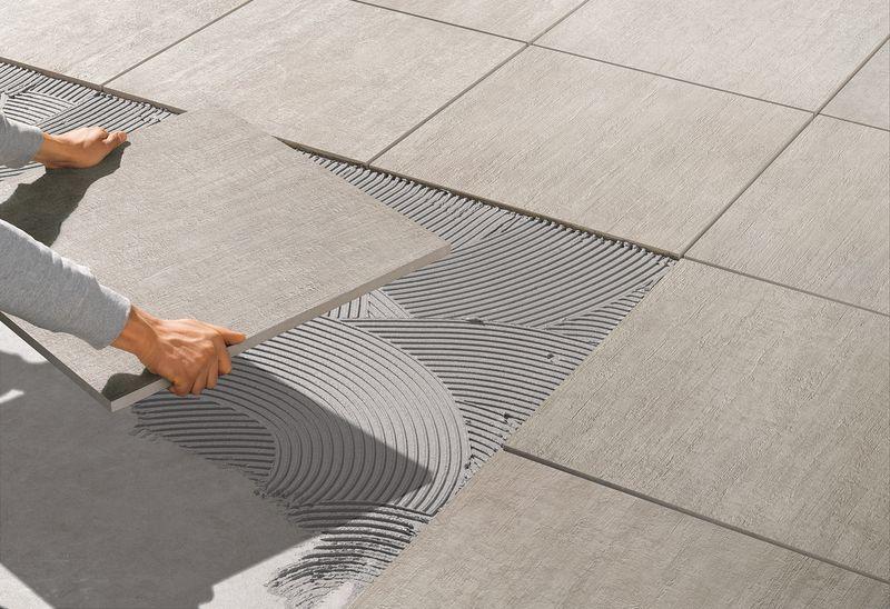 Толщина клея для плитки на пол