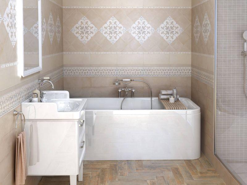 Бесшовная плитка для ванной