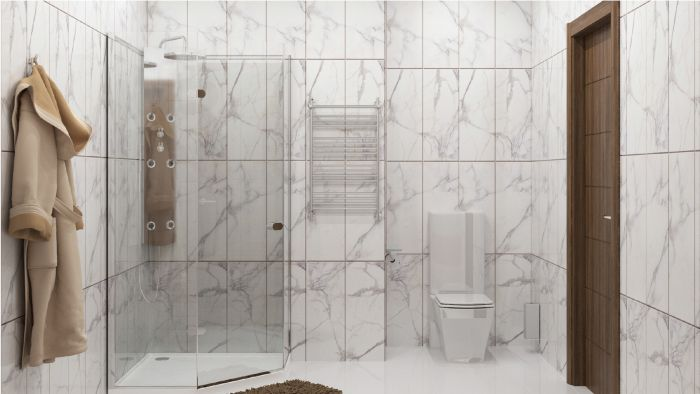 стеновые панели для ванной под плитку