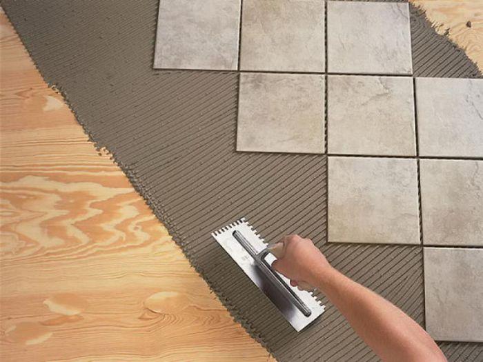 эластичный клей для плитки на фанеру