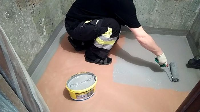обмазочная гидроизоляция для ванной комнаты под плитку