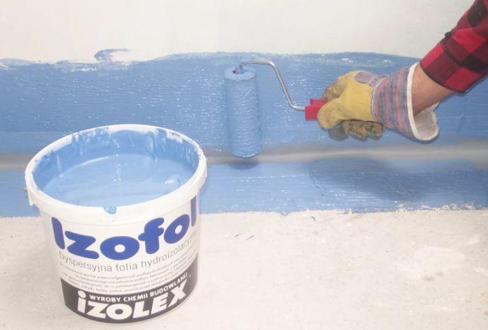 гидроизоляция стен в ванной под плитку
